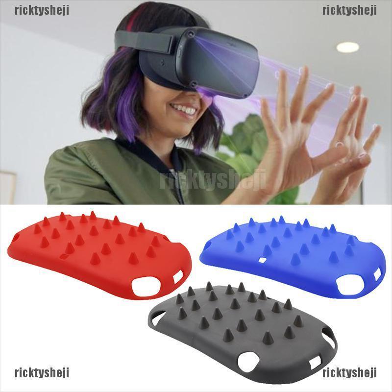 (ricktysheji)VR Helmet Plastic Front Protective Cover Shell Cap For Oculus Quest 1 VR Glasses