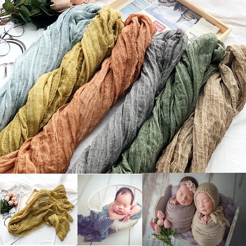 Egodeals Newborn Photography Props Blanket Backdrop Baby Photography Studio Props Baby Wraps Photo Shooting Accessories Fabric