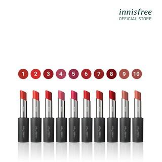 Son môi ẩm mượt innisfree Real Fit Shine Lipstick 3.3g