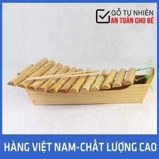 Đồ Chơi Gỗ Đàn T'Rưng Giúp Bé Cảm Nhận Âm Nhạc Hàng Việt Nam