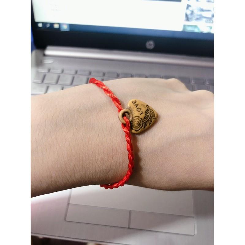 Vòng tay chỉ đỏ may mắn nhiều mẫu bukao