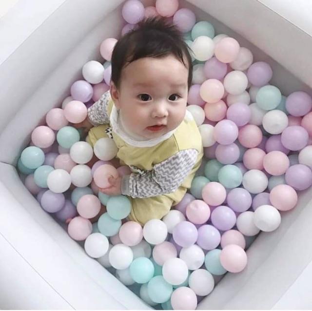 100 quả bóng nhựa an toàn cho bé