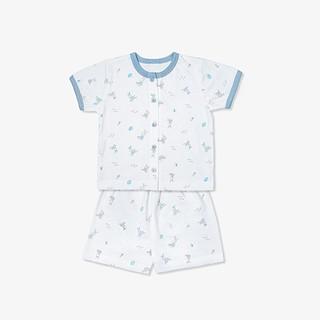 [Mã KIDMALL15 hoàn 15% xu đơn 150K] Bộ quần áo ngắn Thỏ-Miomio-từ 0-24tháng