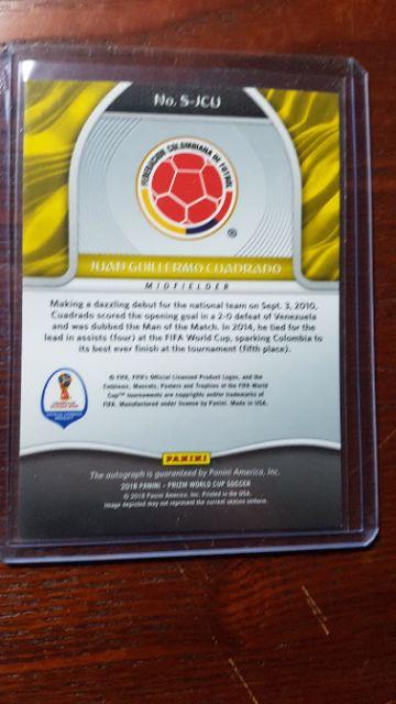 Cuadrado chữ ký ( thẻ bóng đá )