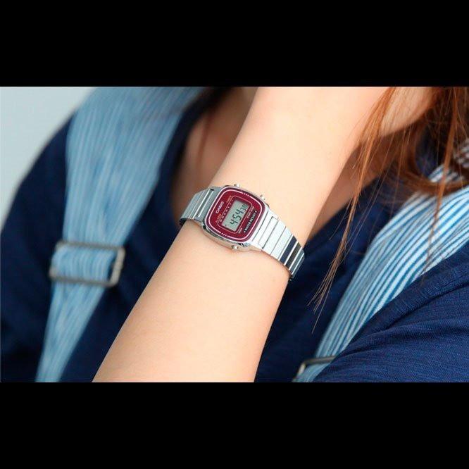 HOT Đồng hồ nữ Casio điện tử chính hãng Anh Khuê LA670 (nhiều màu) (25mm) chính hãng