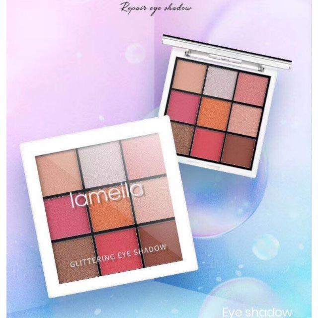 Bảng phấn mắt Lameila 9 color eyeshadow palette