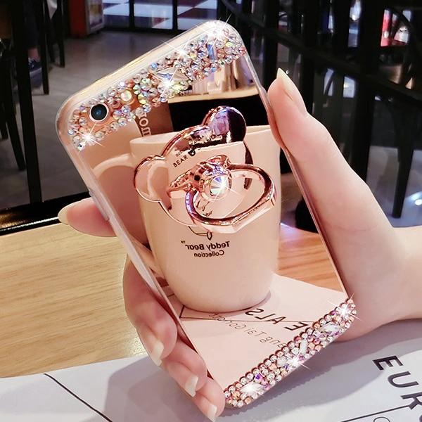 Ốp lưng silicone tráng gương có nhẫn đỡ cho Samsung Galaxy S7 S7 Edge S8 Plus S9 Plus - 14046976 , 2588662007 , 322_2588662007 , 154000 , Op-lung-silicone-trang-guong-co-nhan-do-cho-Samsung-Galaxy-S7-S7-Edge-S8-Plus-S9-Plus-322_2588662007 , shopee.vn , Ốp lưng silicone tráng gương có nhẫn đỡ cho Samsung Galaxy S7 S7 Edge S8 Plus S9