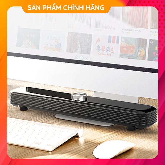 Loa Thanh Gaming Soundbar Để Bàn SADA V-101 Âm Thanh Siêu Trầm Có Cổng Karaoke Dùng Cho Máy Vi Tính PC, Laptop, Tivi