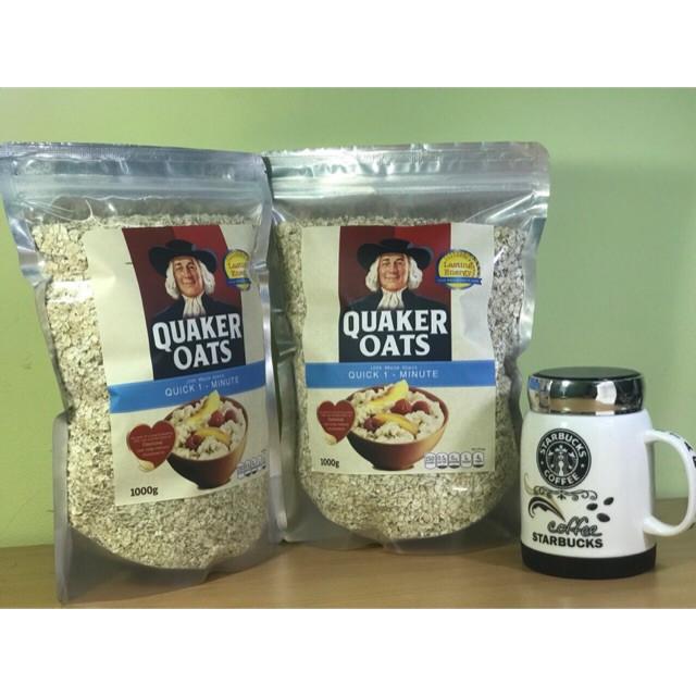 Combo 2kg yến mạch Quaker Oats Combo 2kg yến mạch Quaker Oats