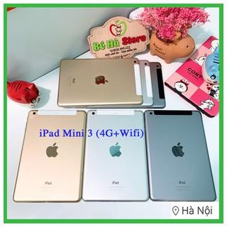 iPad Mini 3 – 128/ 64Gb (4G + Wifi) – Zin Đẹp 99% – Có Bảo Mật Vân Tay