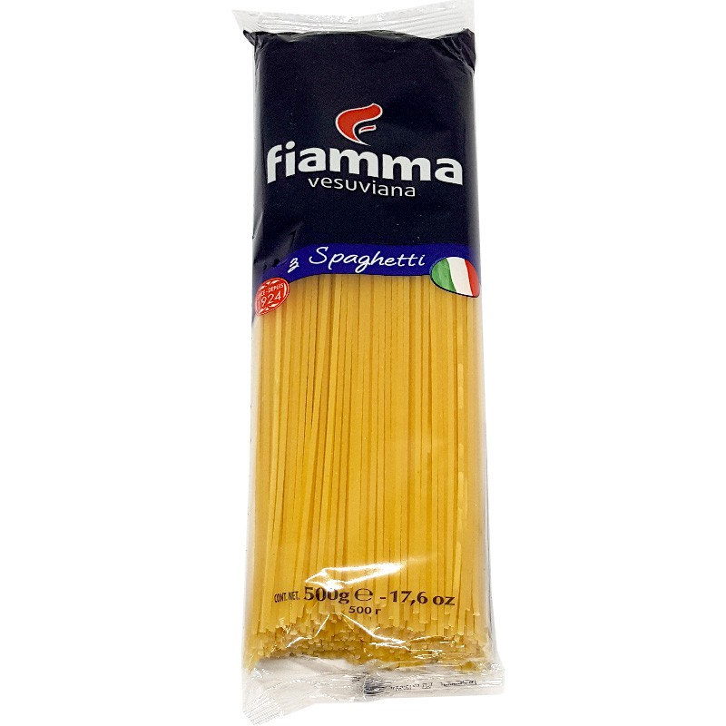 Mì Spaghetti Fiamma số 3 gói 500g