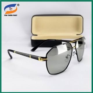 Mắt kính mát nam nữ đổi màu đi ngày và đêm (Unisex) 0545 chống nắng, chống tia UV – Tròng Polaroid phân cực