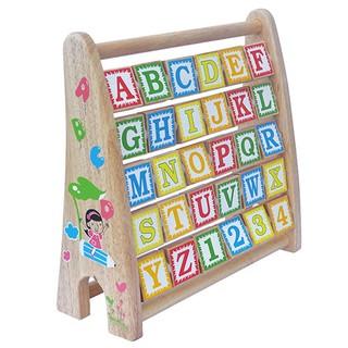 Bảng chữ cái tiếng anh | khung xoay bằng gỗ độc đáo cho bé vui học