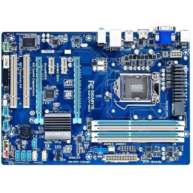 Mainboard Gigabyte z77 HD3 like ne