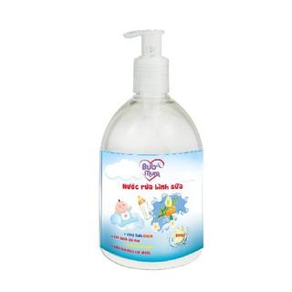 Nước Rửa Bình Sữa cho bé 220ml BuB MuM làm sạch. diệt khuẩn