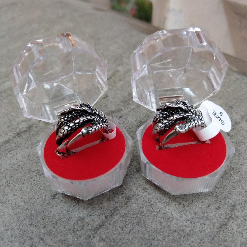 Nhẫn Nam & Nữ Móng Vuốt Độc lạ - nhẫn đôi nam nữ Nhẫn Kim Loại/Nhẫn Đá