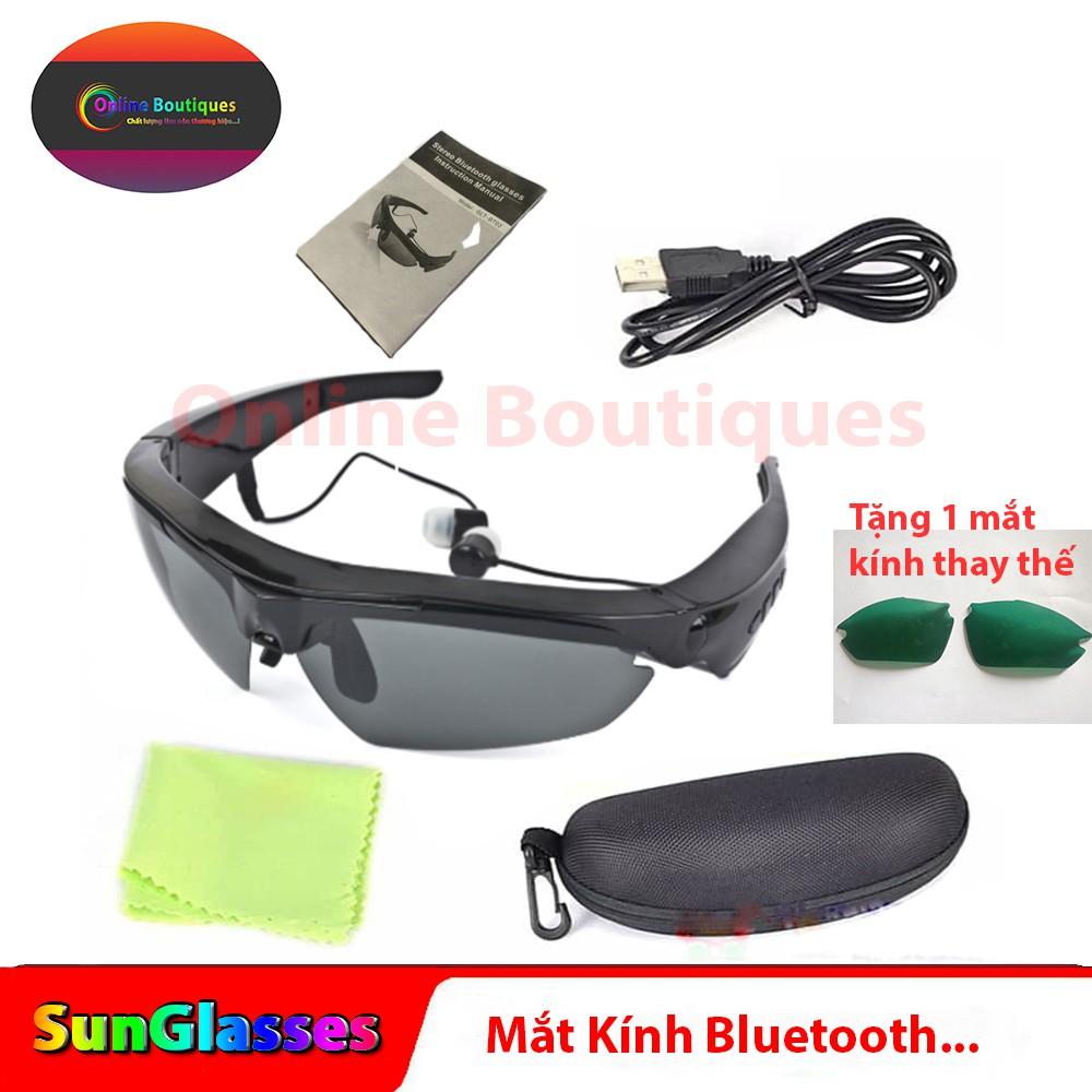 [BT03] Mắt Kính phân cực AMENER BT03 - kết nối bluetooth 4.1- nghe nhạc - đàmm thoại -> SunGlasses