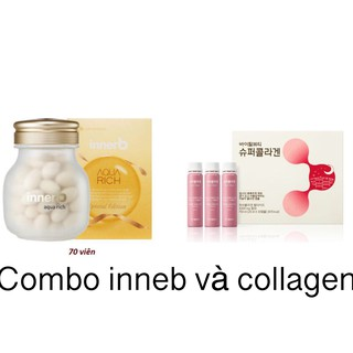 Viên cấp nước và collagen Innerb Aqua Rich (đủ loại) thumbnail