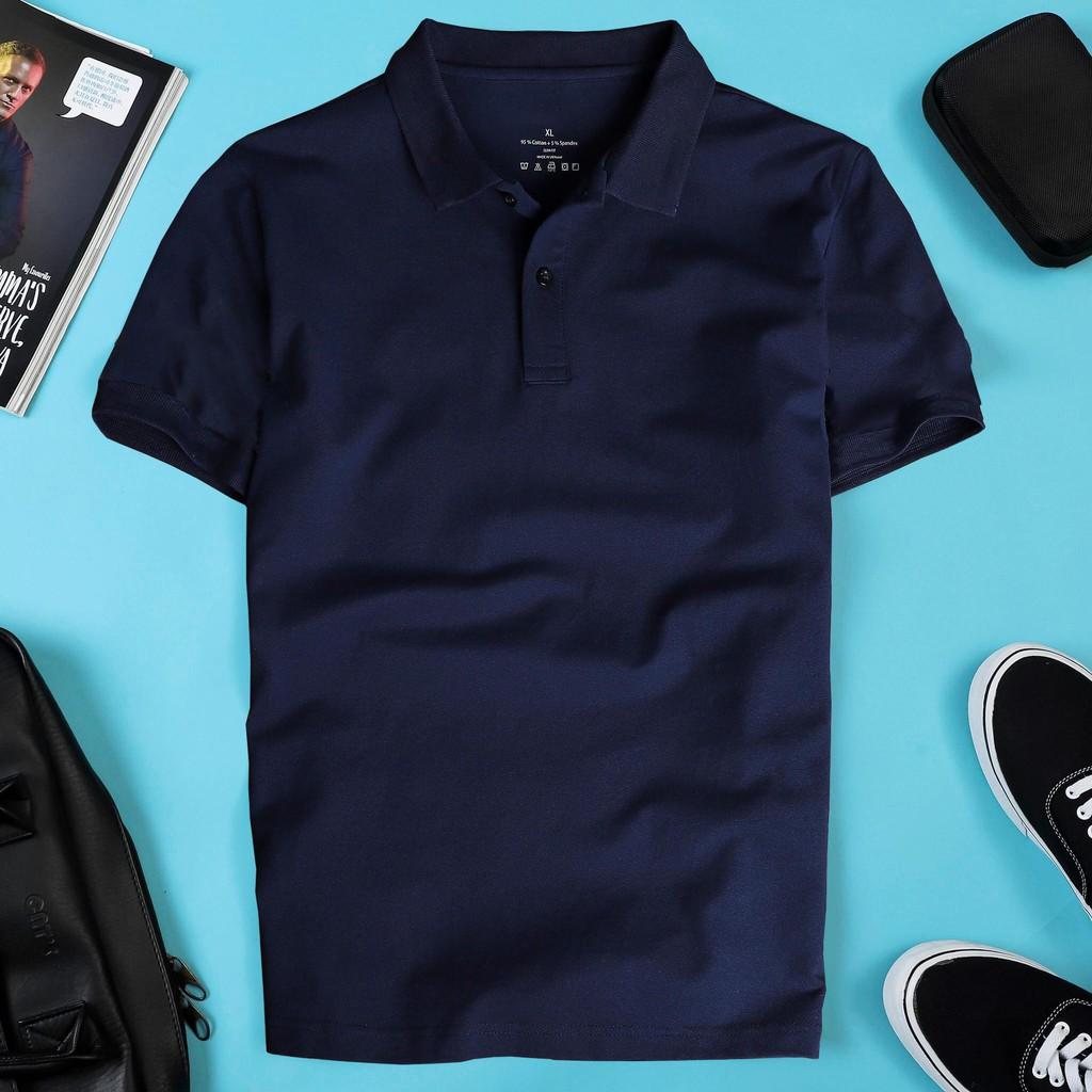 - Áo thun POLO trơn vải cá sấu cotton cao cấp ngắn tay có đủ bảng màu pastel cực hot