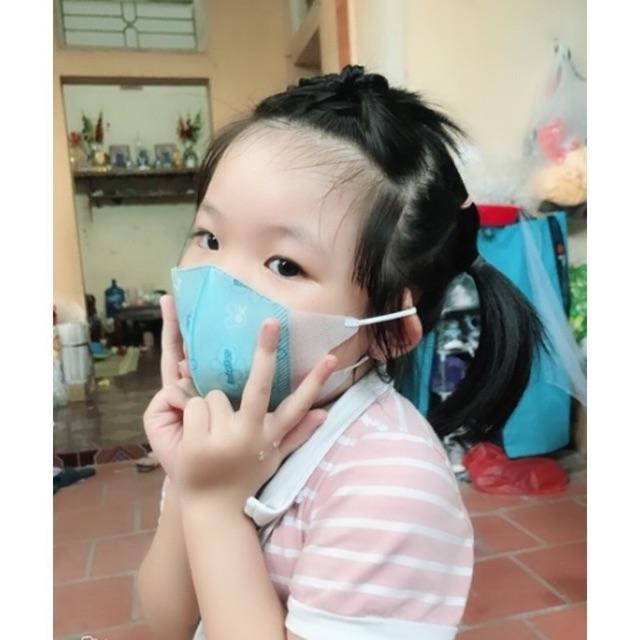 SÉT Khẩu trang kháng chuẩn chống bụi xuất Nhật cho bé