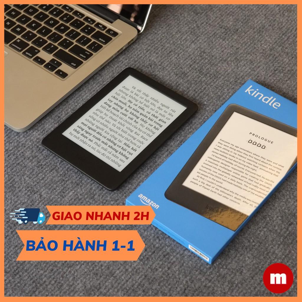 Máy đọc sách All New Kindle - Thế hệ 10, có ĐÈN NỀN hỗ trợ đọc tối - tên gói khác Kindle Basic - maydocsach.vn