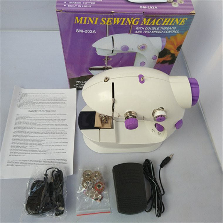 Máy may mini CMD  nhỏ gọn cho gia đình, Máy khâu CMD mini hỗ trợ may vá