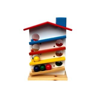 Đồ chơi gỗ – Nhà thả bi