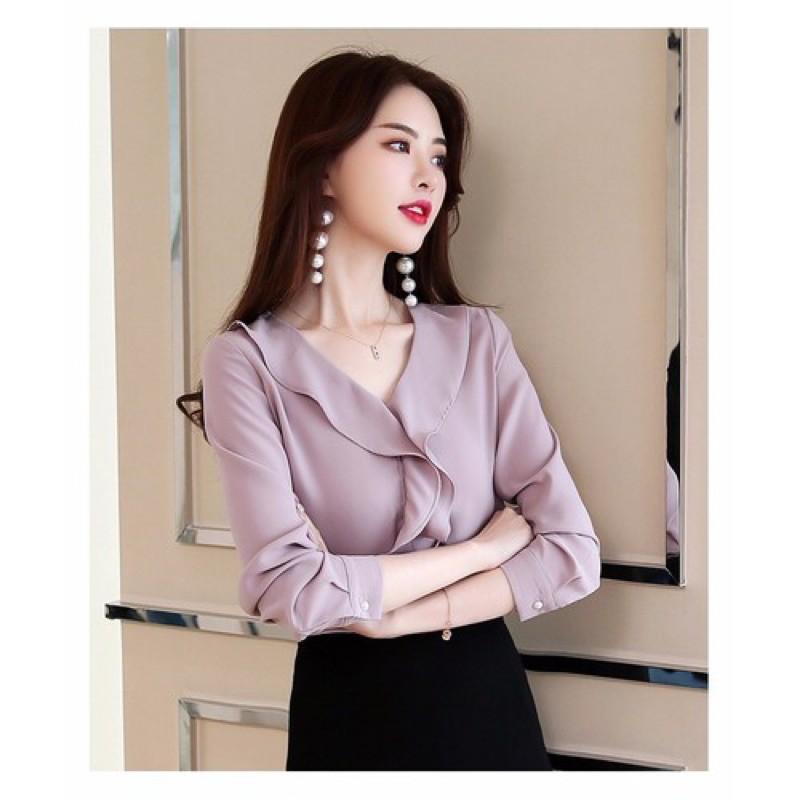 Mặc gì đẹp: Xinh xinh với Áo kiểu nữ sang trọng thích hợp mặc đi làm, dự tiệc
