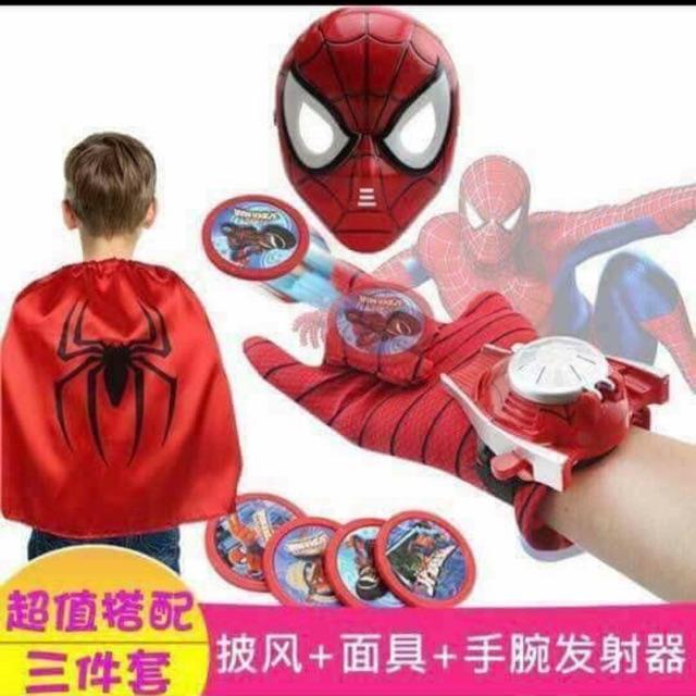 Bộ áo mũ siêu nhân đồ chơi cho bé