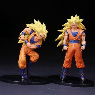 Anime Hand Office Model Dragon Ball Buddhism Association 6 Super Three Goku Two Boxes
