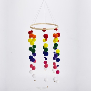 Bamboo Cute Decoration Home Kids Living Room Photo Props Hanging Wind Chimes