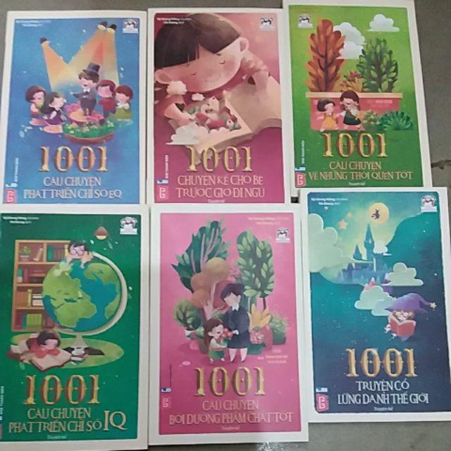 Combo 6 cuốn - 1001 câu chuyện về thói quen tốt