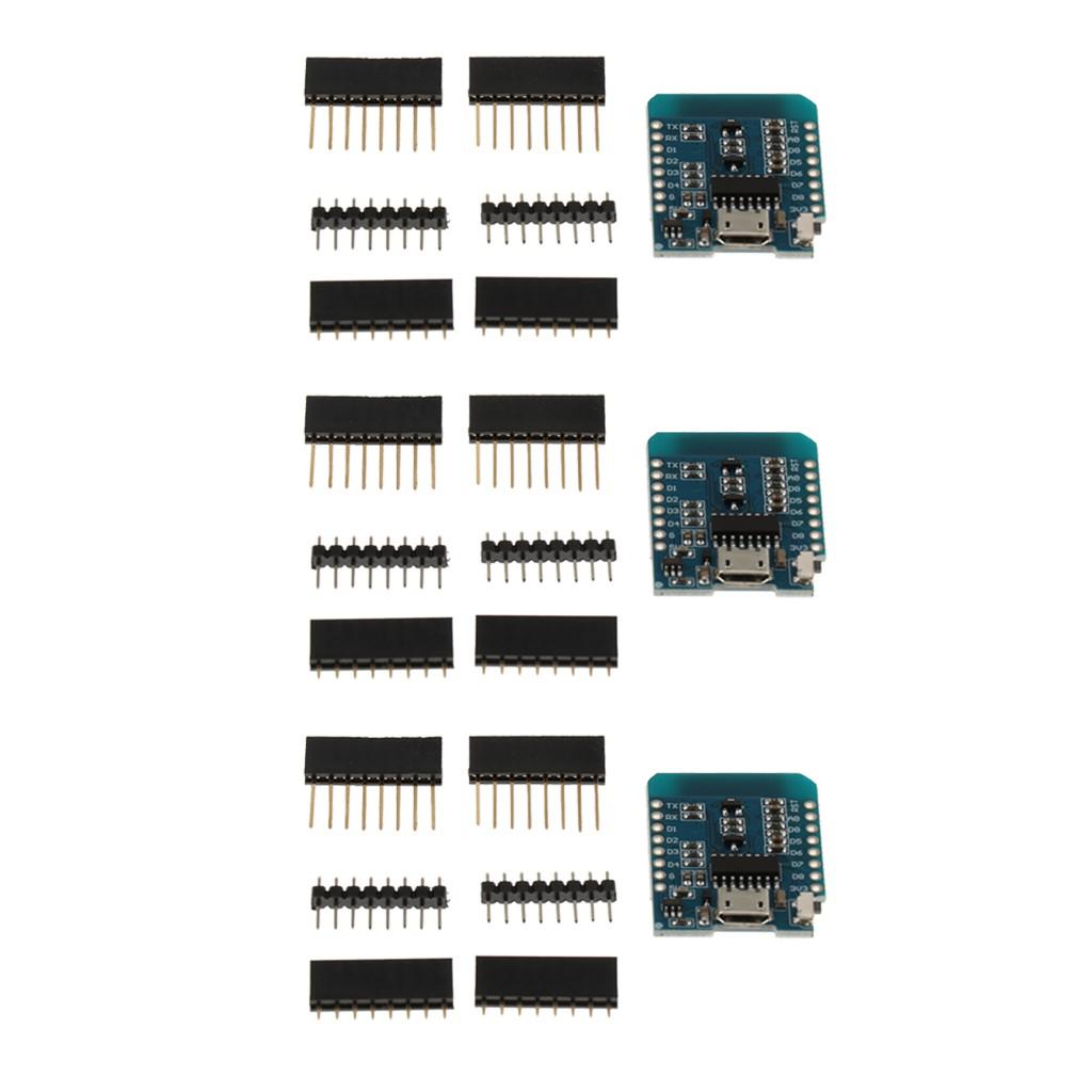 3x ESP8266 ESP-12 D1 Mini WIFI 4M Bytes Development Board NodeMCU Lua Module