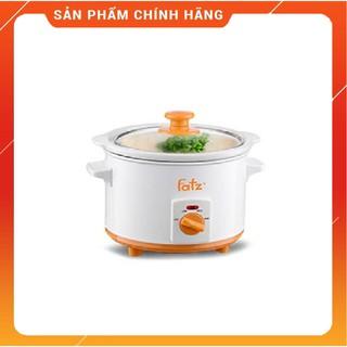 Nồi nấu chậm Fatz baby  FB9015MH Nấu cháo và đồ ăn dặm cho trẻ, giữ được các hàm lượng chất dinh dưỡng rất cao.