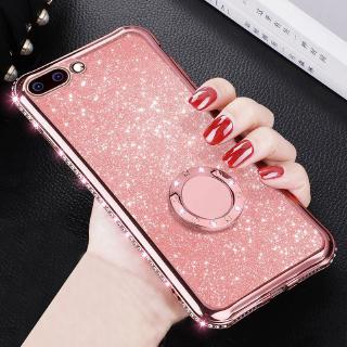Case OPPO F3/ F5/ F9/ F1S/ F11 Pro/ A3S/ A7/ A5S/ A57/ A39/ A83/ A77/ F1 Plus TPU Bling Silicone Soft Casing Cover