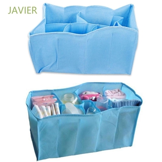 JAVIER Travel Organizer Bag Baby Storage In Bag Portable Water Bottle Diaper Nappy Changing Divider Outdoor Inner Liner/Multicolor