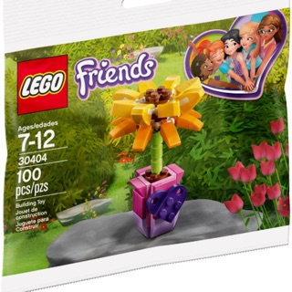 Lego Friends 30404 – Sunflower polybag – Bộ xếp hình Lego Hoa hướng dương