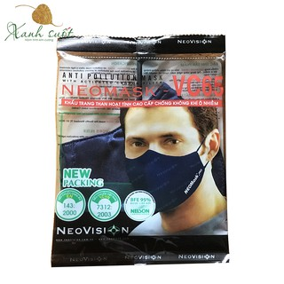 Khẩu trang cao cấp NeoVision- VC65 chống ô nhiễm bụi mịn thumbnail