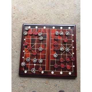bộ bàn cờ gỗ trắc