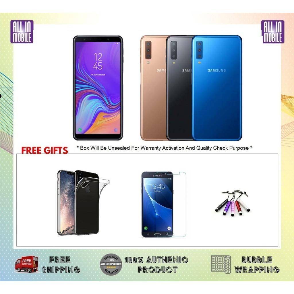 Samsung Galaxy A7 2018 [128GB ROM / 4GB RAM] Original Set