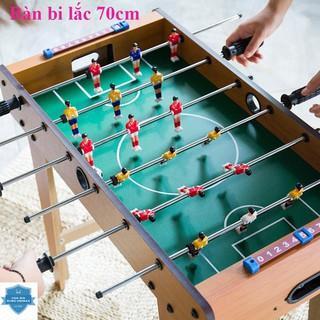 [BH 1 ĐỔI 1] Bàn BI LẮC bóng đá cỡ lớn 70cm FREESHIP Table Top Football TTF-69 chất liệu gỗ cao cấp thumbnail