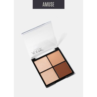 BẢNG PHẤN Amuse Basic Nudes Shadow Set thumbnail