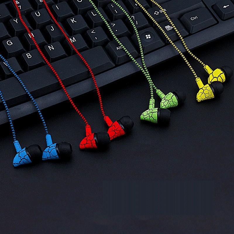 Tai nghe in-ear nhiều màu dây cực chắc jack 3.5mm