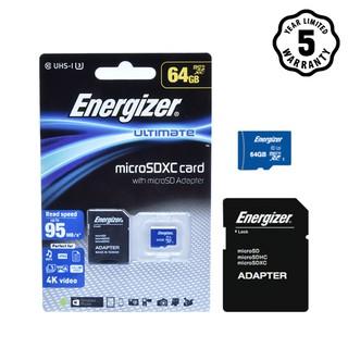 Thẻ nhớ Energizer UL Micro SDXC Card 64GB