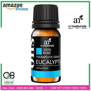 [Artnaturals] Tinh dầu Chàm - Khuynh Diệp Eucalyptus 10ml, giảm ho cảm, côn trùng đốt, made in USA