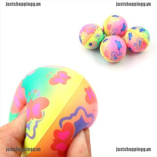{shopping} 1PC Stress Relief Vent Ball Butterfly Squeeze Foam Ball Hand Relief Kids Toys{JUST}