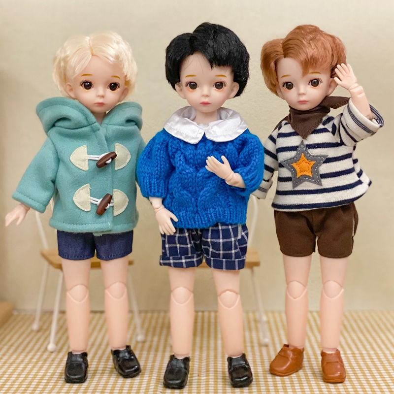 Bộ Quần Áo Búp Bê Barbie 6 Bjd Dài 30cm