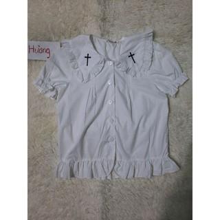 Áo blouse lolita hãng DoDo 280k