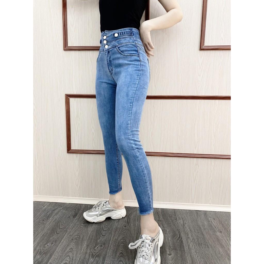 quần jean cap cao cho nữ hót 2021 FREESHIP50K