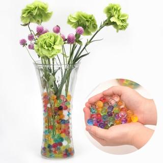 12 Bottles Absorbent Beads Crystal Mud Swell Balls Kids Toys JP0602